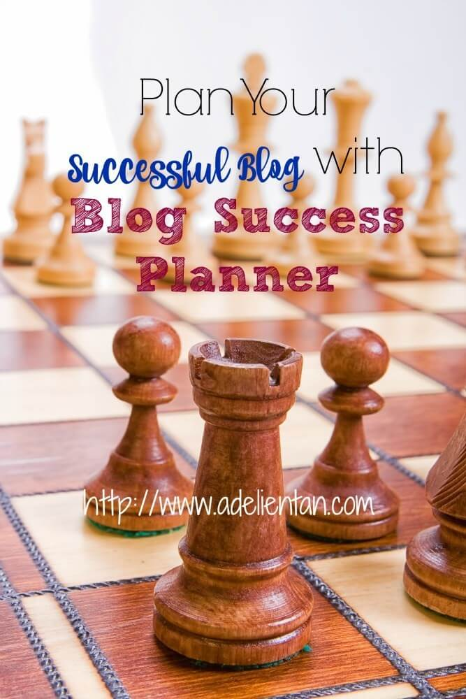 Plan Your Successful Blog with Blog Success Planner