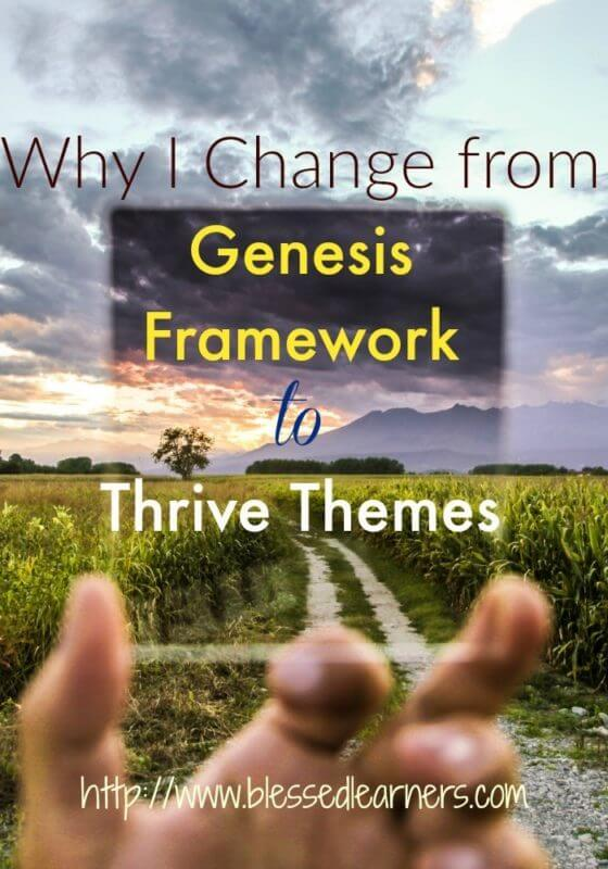 Why I Change from Genesis to Thrive Themes